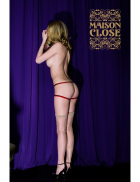 Culotte Le Cul Nu Rouge de Maison Close