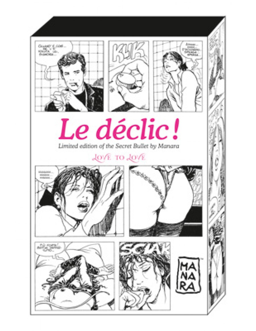 Secret Declic By Manara Oeuf vibrant sans fil