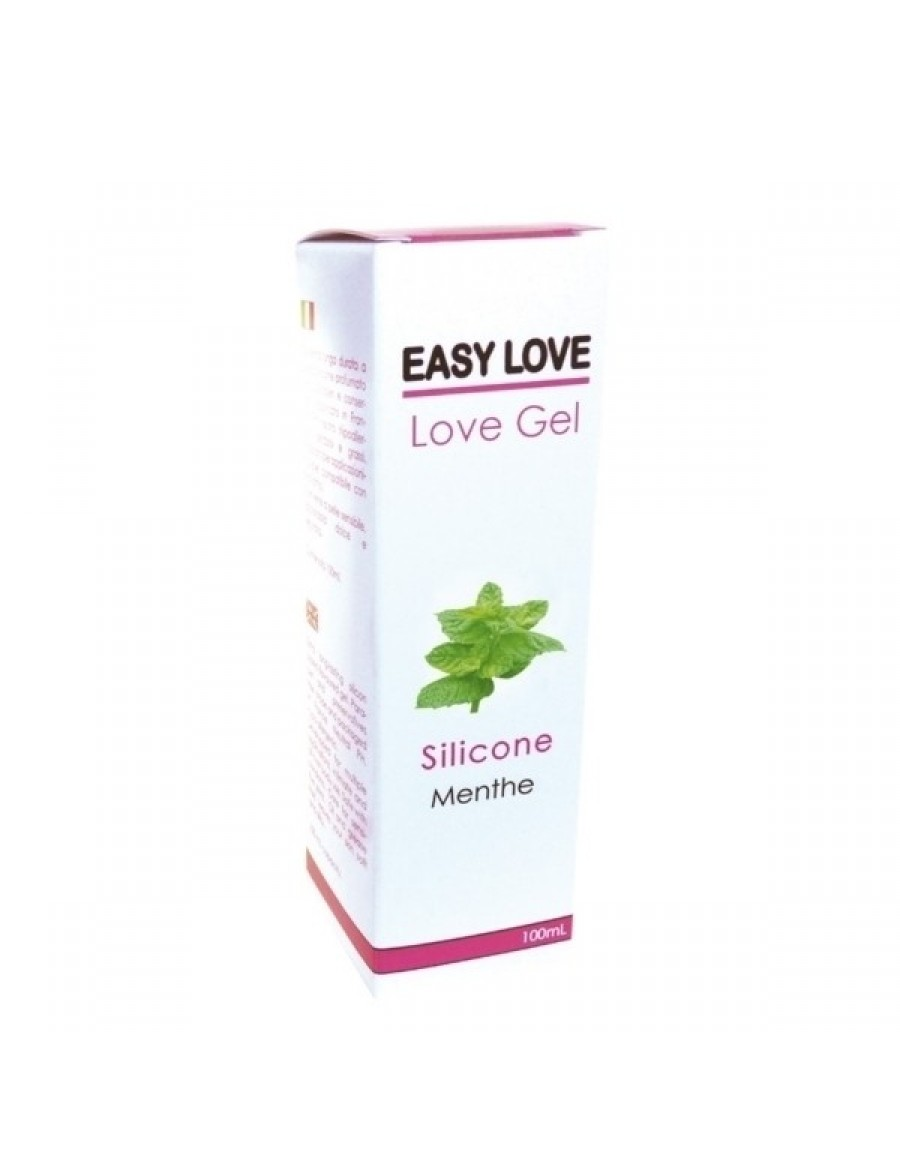 Easy Love Gel Lubrifiant Massage Erotique 100 ml Menthe Fraiche