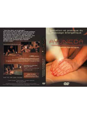 DVD Ayuneda Massage relaxation tantrique