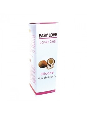 Easy Love Gel Lubrifiant Massage Erotique 100 ml Noix de Coco