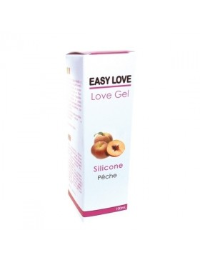 Easy Love Gel Lubrifiant Massage Erotique 100 ml Pêche