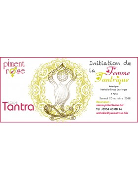 Stage Tantra une journee Initiation Femme Tantrique à Paris