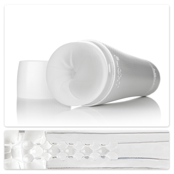 Masturbateur Flight Instructor FleshLight Blanc SuperSkin