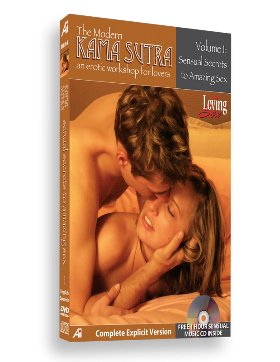 "DVD pour adulte Kama-Sutra ""Sensual Secrets for Amazing Sex"""
