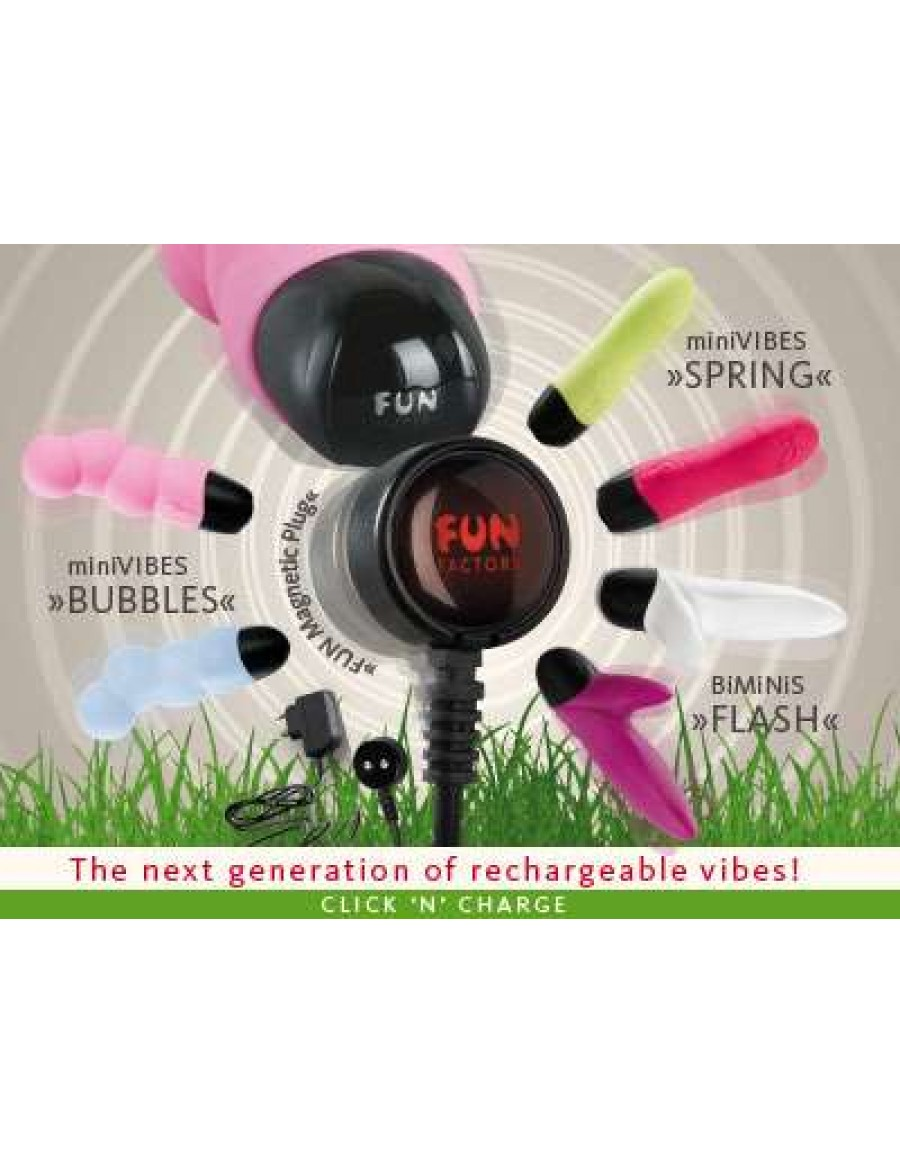 Chargeur Fun Magnetic Plug - Click'N' Charge