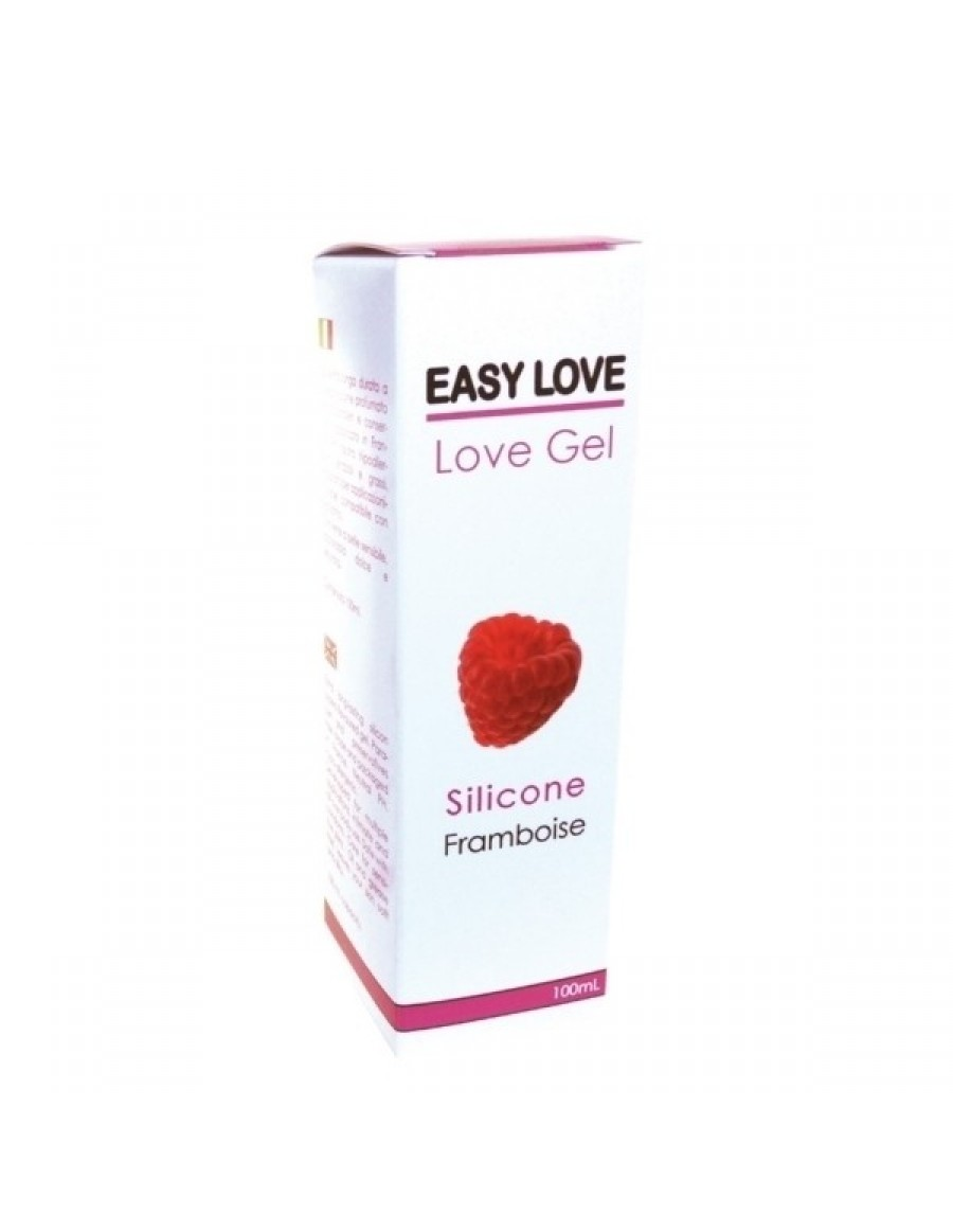 Easy Love Gel Lubrifiant Massage Erotique 100ml Framboise