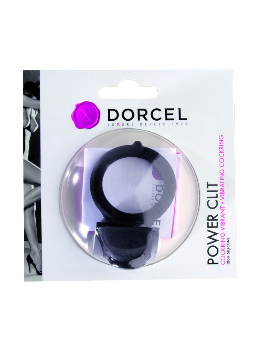 Cockring Power Clit anneau vibrant de Marc Dorcel